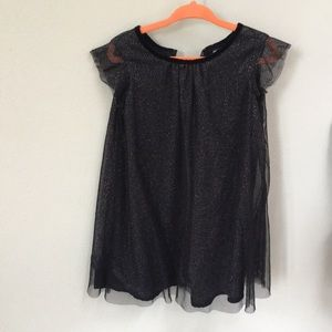 Girls dress black t3
